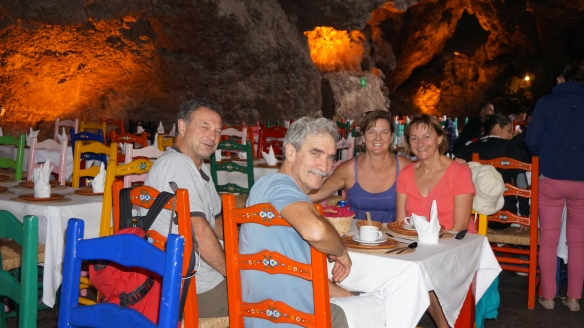 La Gruta Restaurante ~established in 1906 - in a cave!! Right behind the Temple of the Sun