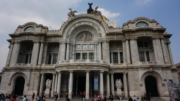 Palacio de Bellas Artes - as breathtaking inside as out.