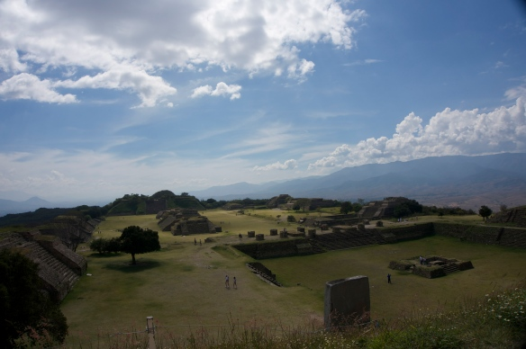 Monte Alban This incredible site just goes on forever - so beautiful