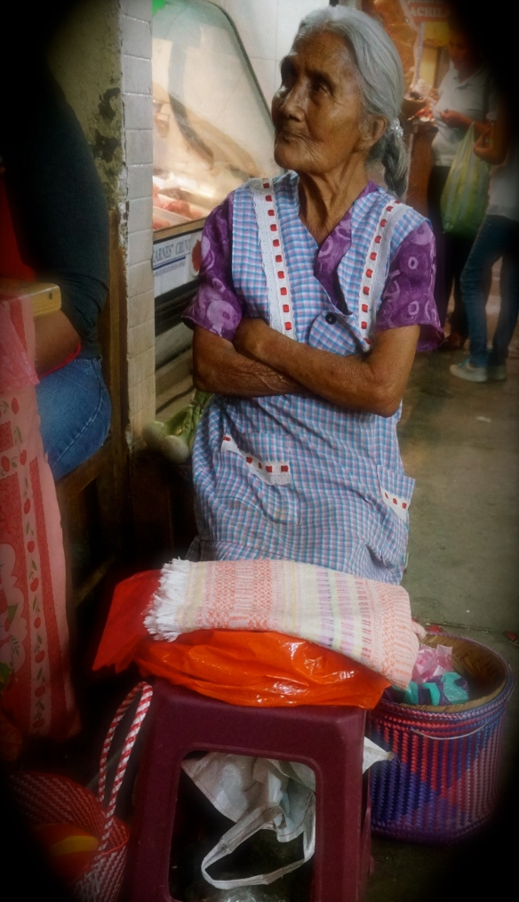 Typical market vendor