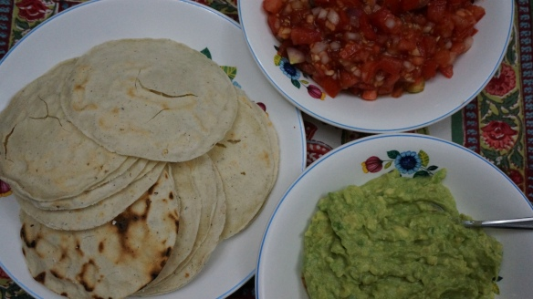 Happy Hour can't be beat with the local supplies for guacamole and salsa!