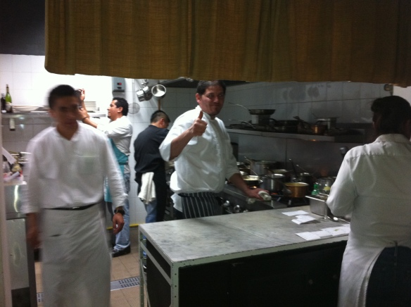 Eduardo Garcia Chef and Mastermind behind 3 successful restaurants in Mexico city Maximo Bistro de Mar a Mar Lalo