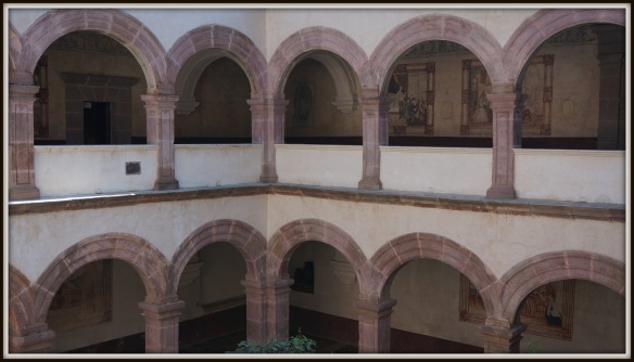 Interior courtyard of the former convent, it is easy to imagine the murmurs of voices past in here.