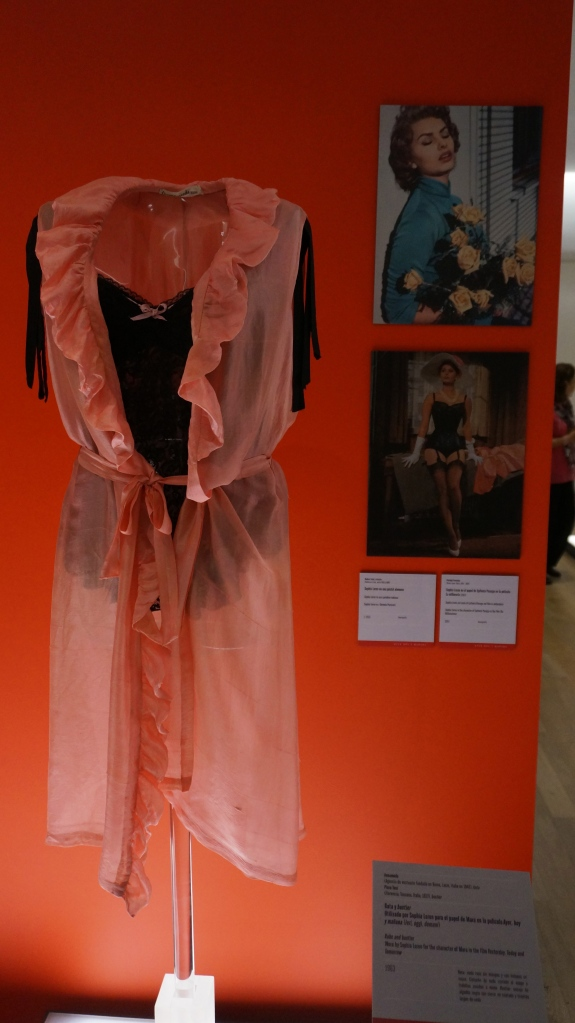 One of the many Sophia Loren outfits from her movies.