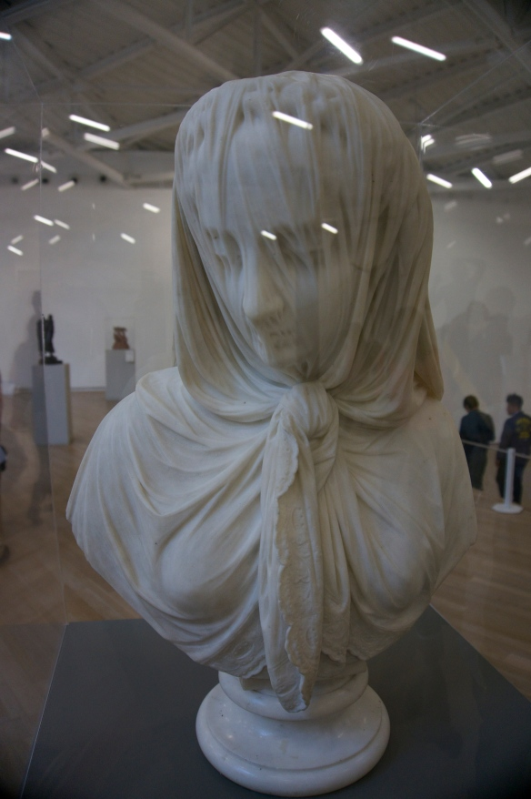 Italian sculptor - B. Lombardi created this phenomenal lady with a veil