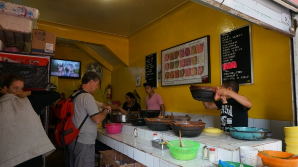 Tacos la Hola - another favourite taco joint on the streets of Mexico city.