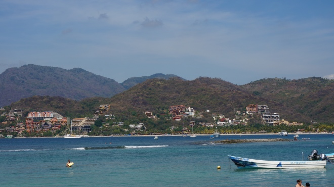 Hasta la vista la playa …. we are leaving Zihuatenajo area and heading back to Mexico City for our final couple of days.