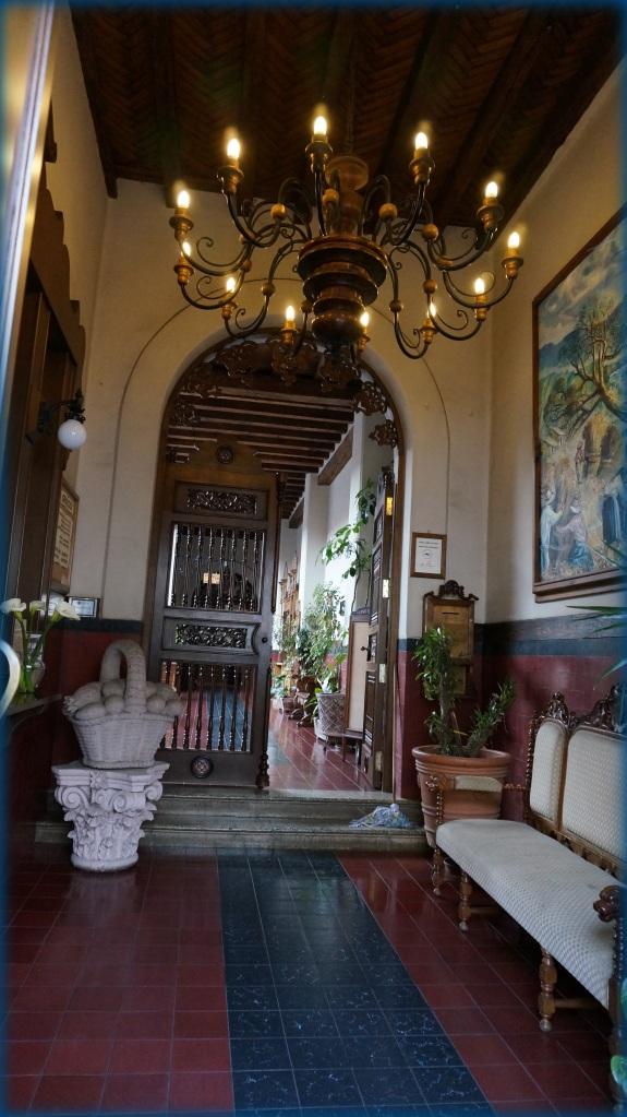 Entry of Hotel Mi Solar