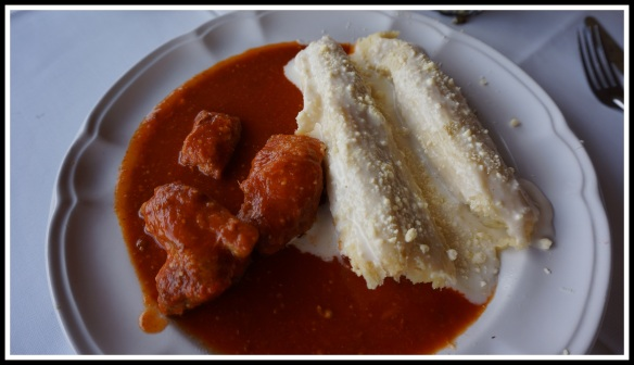 """On a valued recommendation, I went with Huchepos con costilla y credo.  These """"tamale like"""" creations are lighter and fluffier than a tamale, and those little pork rib lets were fantastic."""