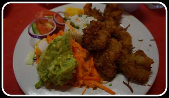 Camerones al la Coco - I think the best coconut shrimp we tried.  Lightly coated in coconut and such fresh shrimp.