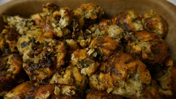 Trust me - this will be your new favourite savory stuffing or bread pudding!