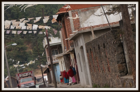 typical street in Angahuan