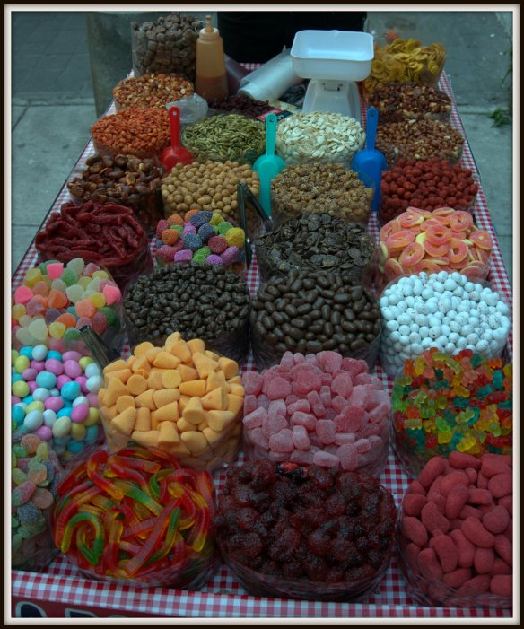 No matter what your sweet tooth is craving, you will find it on the streets of the city.