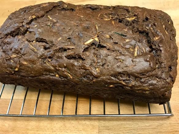 Chocolate Chunk Zucchini Loaf 2