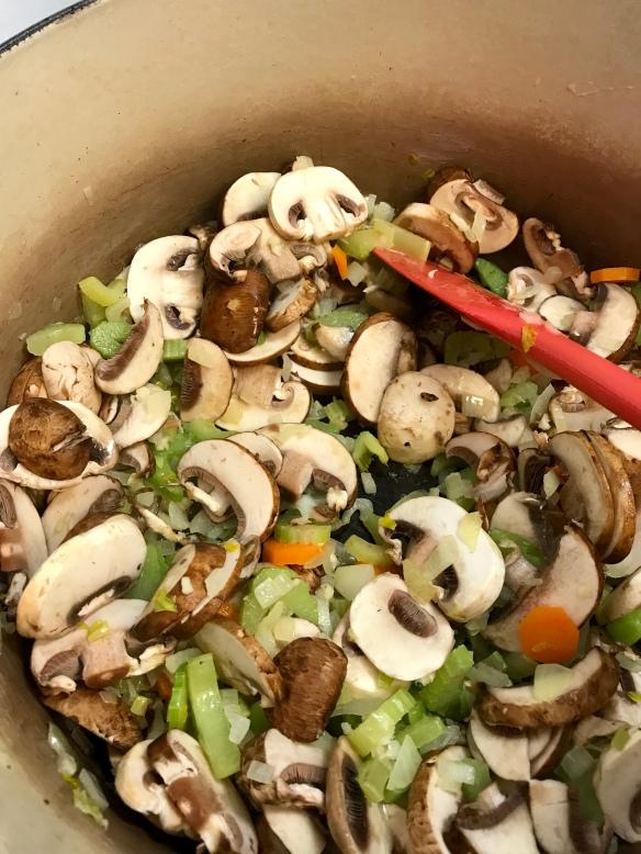 Chicken Mushroom Soup 3