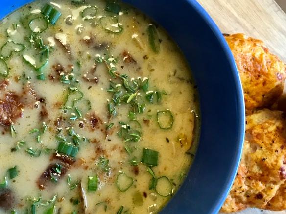 Chicken Mushroom Soup 5