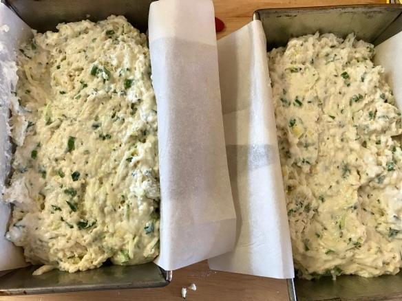 Cheesy zucchini herb loaf 3
