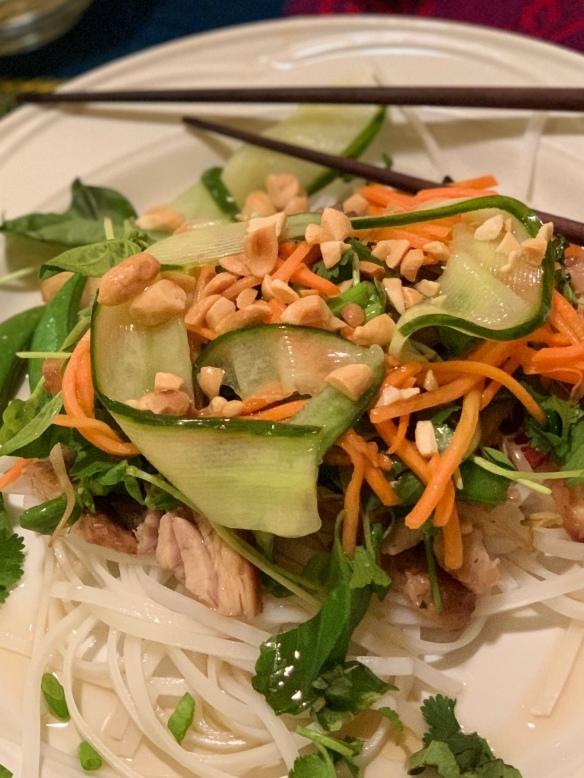 Vietnamese noodle bowl 1