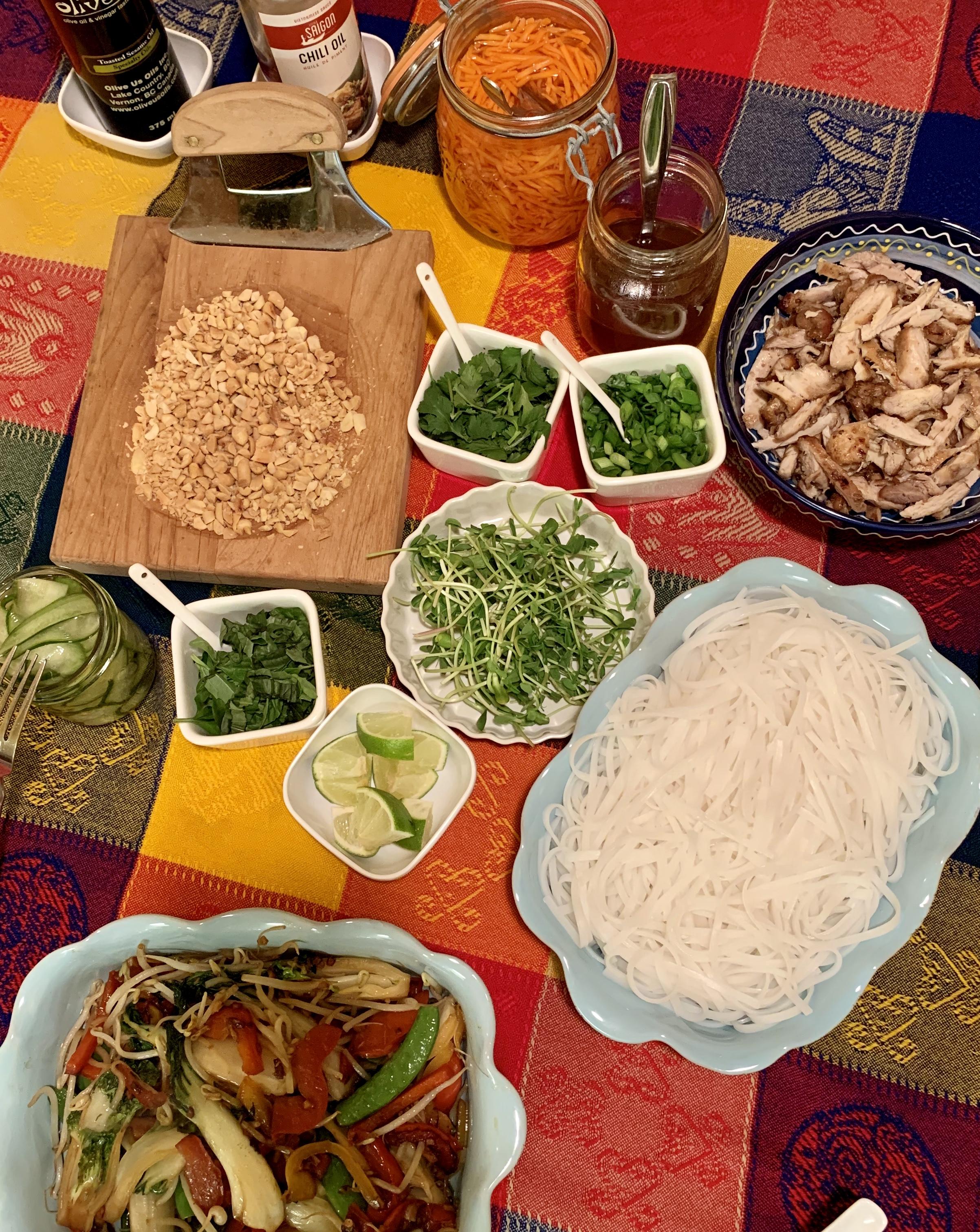 Vietnamese noodle bowl 3