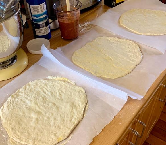 Sourdough pizza 1