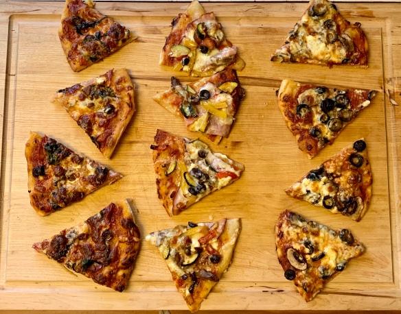 Sourdough pizza 2